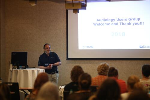 2018 TIMS for Audiology Users Group Conference President Presentation on TIMS Accounts Receivable