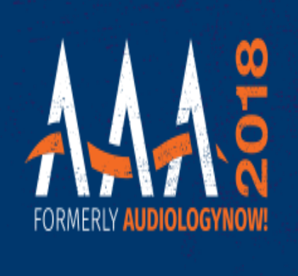 AAA 2018, formerly AudiologyNOW!