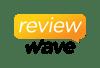 reviewwave logo vertical