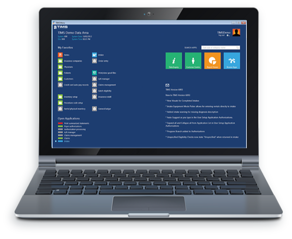 TIMS Software Enterprise Resource Planning for Industrial Gas and Welding Suppliers