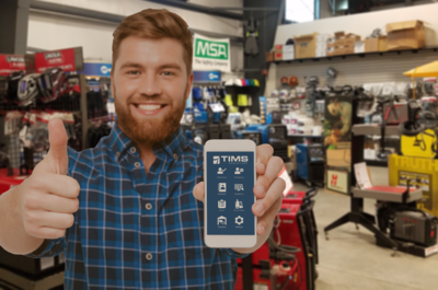 Mobile App TIMS Assistant Works In Your Store, At Your Dock, Or At Your Customer's Location