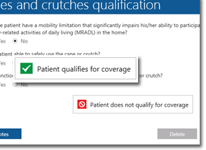 TIMS HME Software | Patient Qualification System