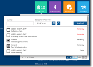 TIMS HME Software | Order Entry to enter orders from sales and service.