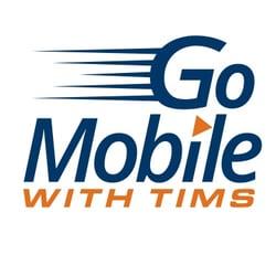 Go Mobile PopSocket Logo Blue Orange