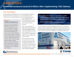 TIMS_HME_Delivery_Preferred_Homecare_Cost_Savings_Case_Study